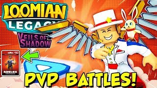 LOOMIAN LEGACY - PvP BATTLES! - Colosseum Update, FITE ME (Roblox) + ROBUX CARD GIVEAWAY