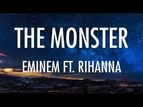 EMINEM - THE MONSTER (LYRICS/ LYRIC VIDEO) [FT. RIHANNA]