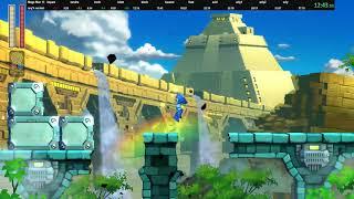 Mega Man 11 any% normal in 36:48