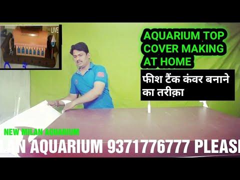 Aquarium Top cover Making | How to make Aquarium Top cover | Aquarium Decoration ideas