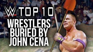 10 wwe wrestlers john cena buried worst booking decisions