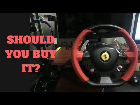 possibly-best-cheap-racing-wheel---thrustmaster-ferrari-458-racing-wheel---unboxing/review/gameplay