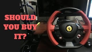 POSSIBLY BEST CHEAP RACING WHEEL - Thrustmaster Ferrari 458 Racing Wheel - Unboxing/Review/Gameplay