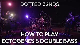 How to play Animals as Leaders Ectogenesis Double Bass Drum Groove | Prog Metal Drum Tutorials |