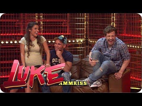 Joyce und Luke spielen mit Sarah und Pietro - LUKE! Die Woche und ich