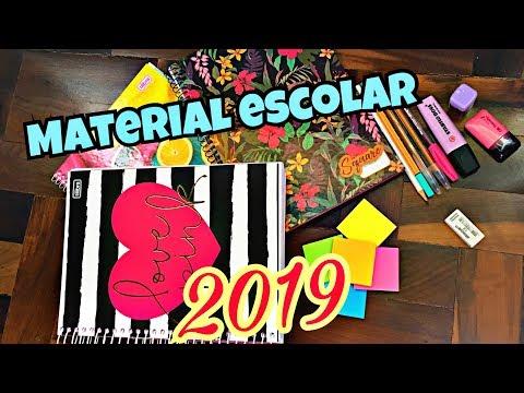 MEU MATERIAL ESCOLAR 2019
