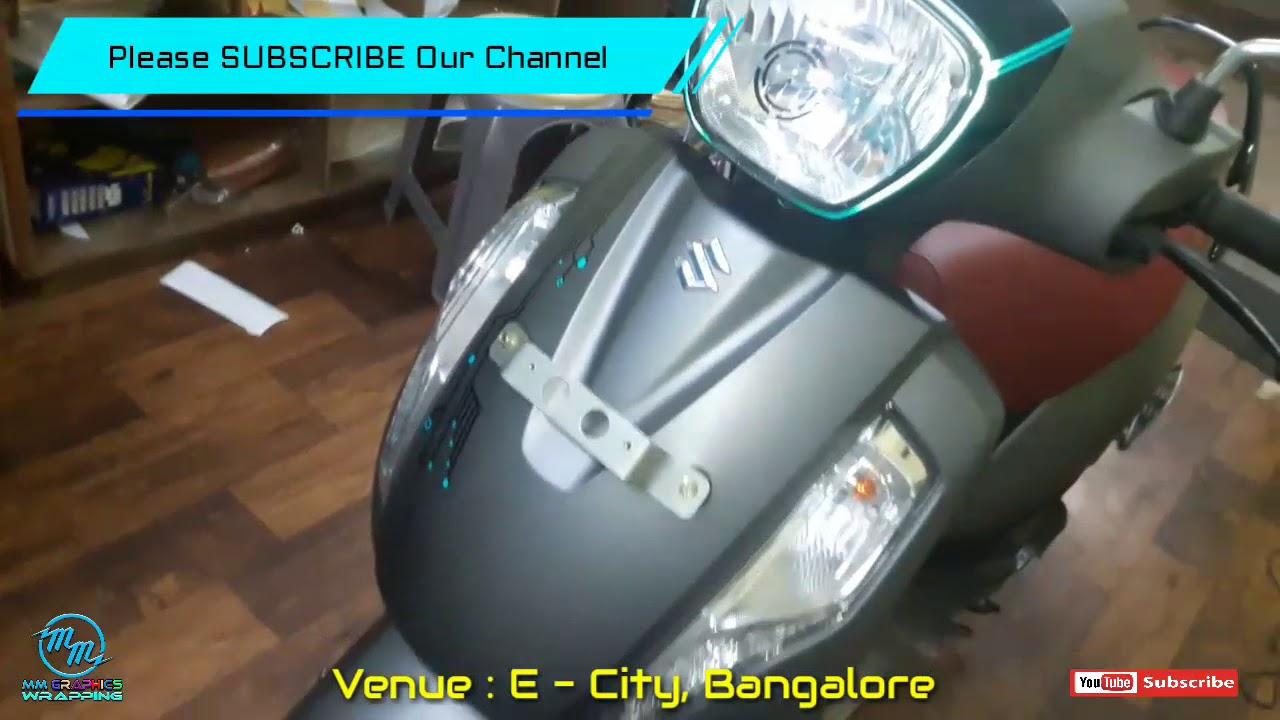 Access 125 new modification graphics sticker