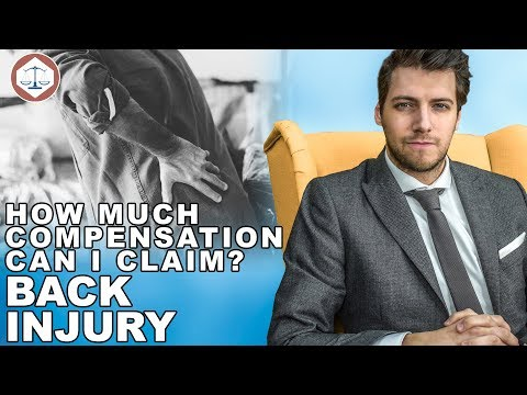 Back Injury Compensation Claims Amounts? ( 2019 ) UK
