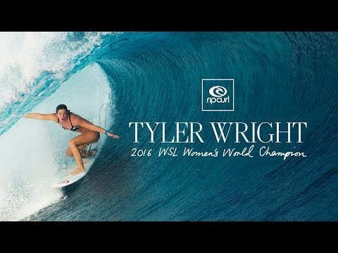 Rip Curl Surf Videos Tyler Wright – WSL Women's World Surfing Champion surfs really good