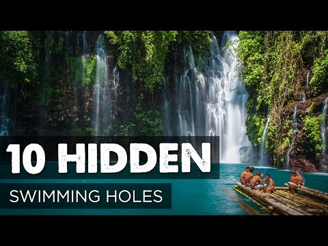 10 Hidden Swimming Holes Around the World