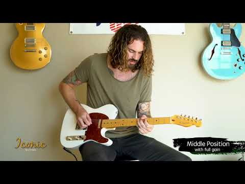 Iconic Custom Guitars - The 56T Demo With Eric Dates