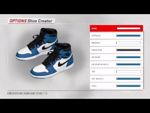 c8728ed7c85219 NBA 2K18 Shoe Creator - Air Jordan 1