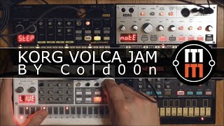 Korg Volca - LIVE Session by Cold00n