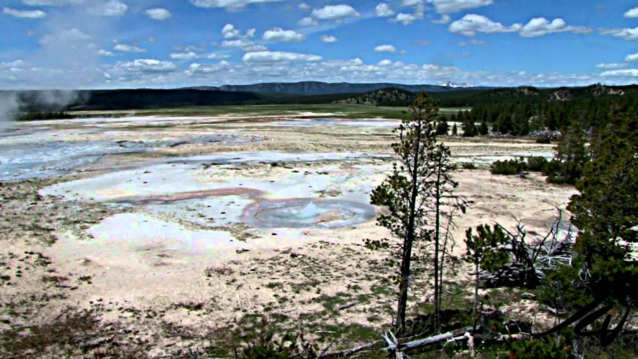 Yellowstone Supervolcano  Hd  - Yellowstone Caldera