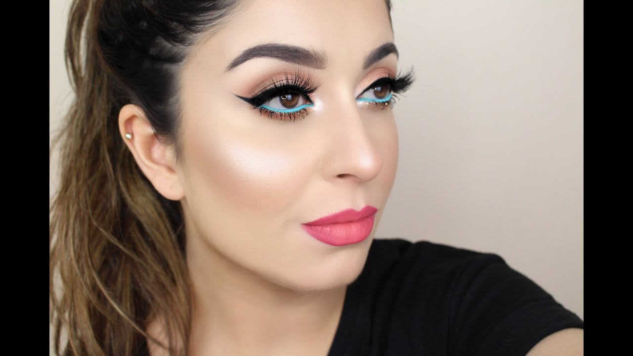 Summer Party Glam Makeup Tutorial Youtube