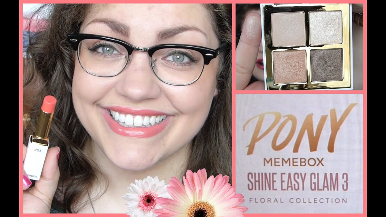 Download PONY x Memebox Shine Easy Glam 3: Swatches + Review!