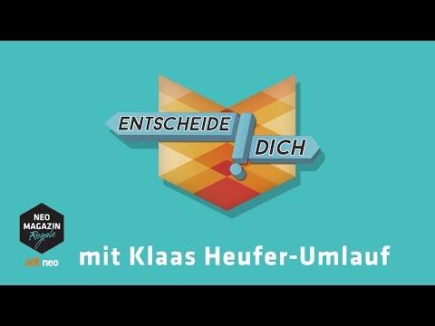 Entscheide dich! mit Klaas Heufer-Umlauf   NEO MAGAZIN ROYALE mit Jan Böhmermann - ZDFneo