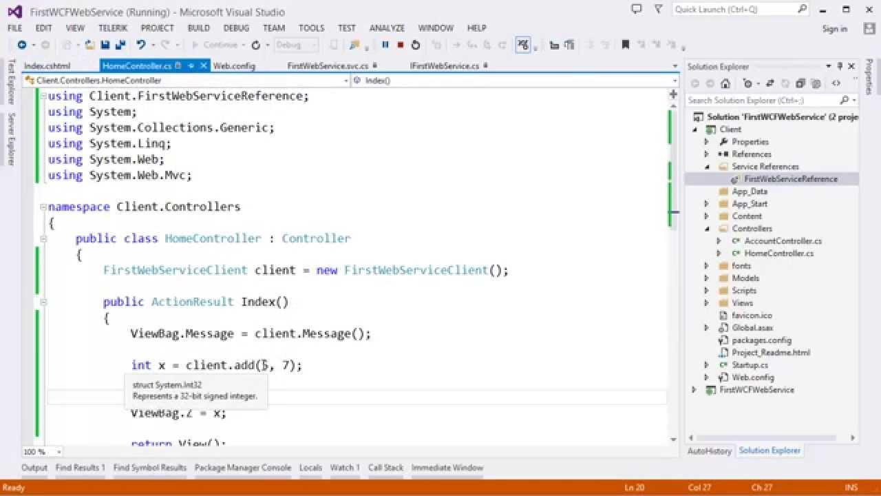 How to call c#. Net wcf web service in php soap client.