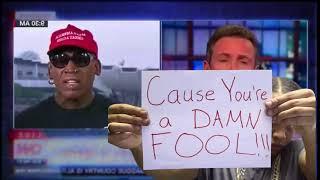 Militant Mose Ep. 44 - Dennis Rodman Cries Over Donald Trump & North Korea