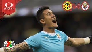 Gudiño El Héroe Del Clasico  América 1   1 Chivas   Apertura 2018   J11  Televisa Deportes