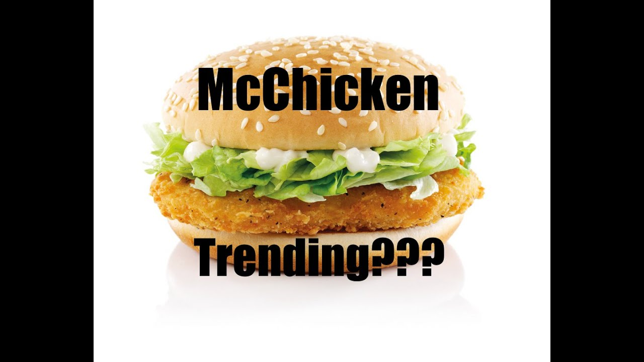 my reaction to why mcchicken is trending on twitter youtube