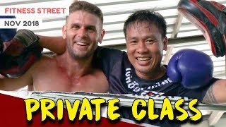 CHOKCHAI MUAY THAI PHUKET (PRIVATE CLASS) | FITNESS STREET VLOGS
