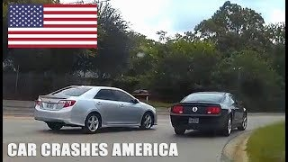 CAR CRASHES IN AMERICA | BAD DRIVERS USA #10 | NORTH AMERICAN DRIVING FAILS