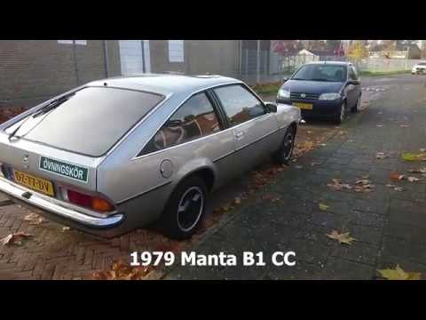 Opel Manta B 1979 - overview -