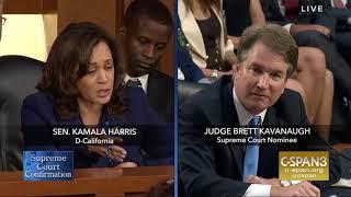 Senator Harris Questions Brett Kavanaugh, 9/5/18