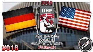 EISHOCKEY WELTMEISTERSCHAFT 2018 [Deutsch/German] #018 - USA - Deutschland ★ IIHF 2018