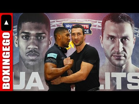 "(WOW!!!) KLITSCHKO WARNS ANTHONY JOSHUA ABOUT MUSCLES: ""JOSHUA CAN BE A CROSSFIT WORLD CHAMPION"""