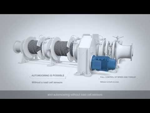 Electrically driven deck winches with ACS880 industrial drives
