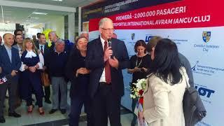 Aeroportul International Avram Iancu din Cluj a atins pentru prima data cifra de 2 milioane de pasag