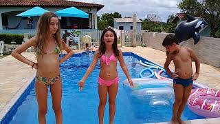 "Video Desafio na piscina  "" Fale qualquer coisa "" download MP3, 3GP, MP4, WEBM, AVI, FLV Oktober 2018"