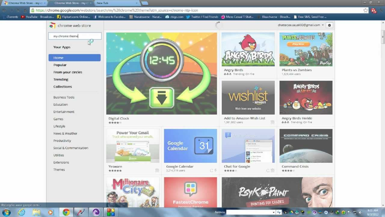 Google themes create your own - How To Create Your Own Google Chrome Theme