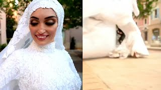 Bridal Photographer Captures Beirut Blast