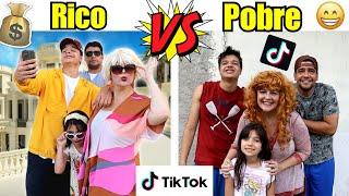RICO VS POBRE  NO TIK TOK  #1 - Família Rica VS Família Pobre