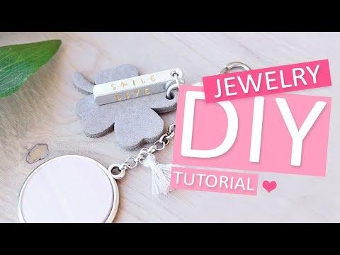 DIY Tutorial: Sleutelhanger ImpressArt – Zelf sieraden maken