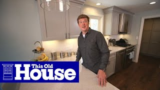 Kitchen Solutions: Layering Light - This Old House