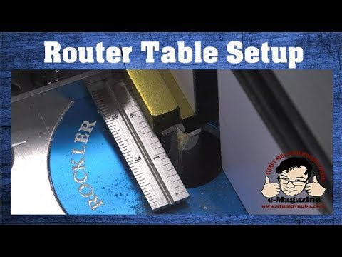 3 Tricks for Quick & Accurate Router Table Setup