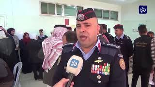 الشرطةُ المجتمعيةُ تنظمُ يوما طبيا مجانيا في محافظة الزرقاء