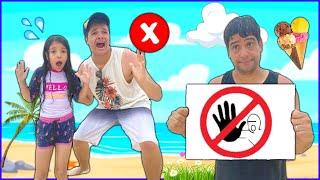 REGRAS DE CONDUTA para CRIANÇAS na PRAIA (Rules of Condut for Children)