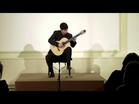 Rafael Aguirre Plays Etude 7 By H.Villa Lobos.