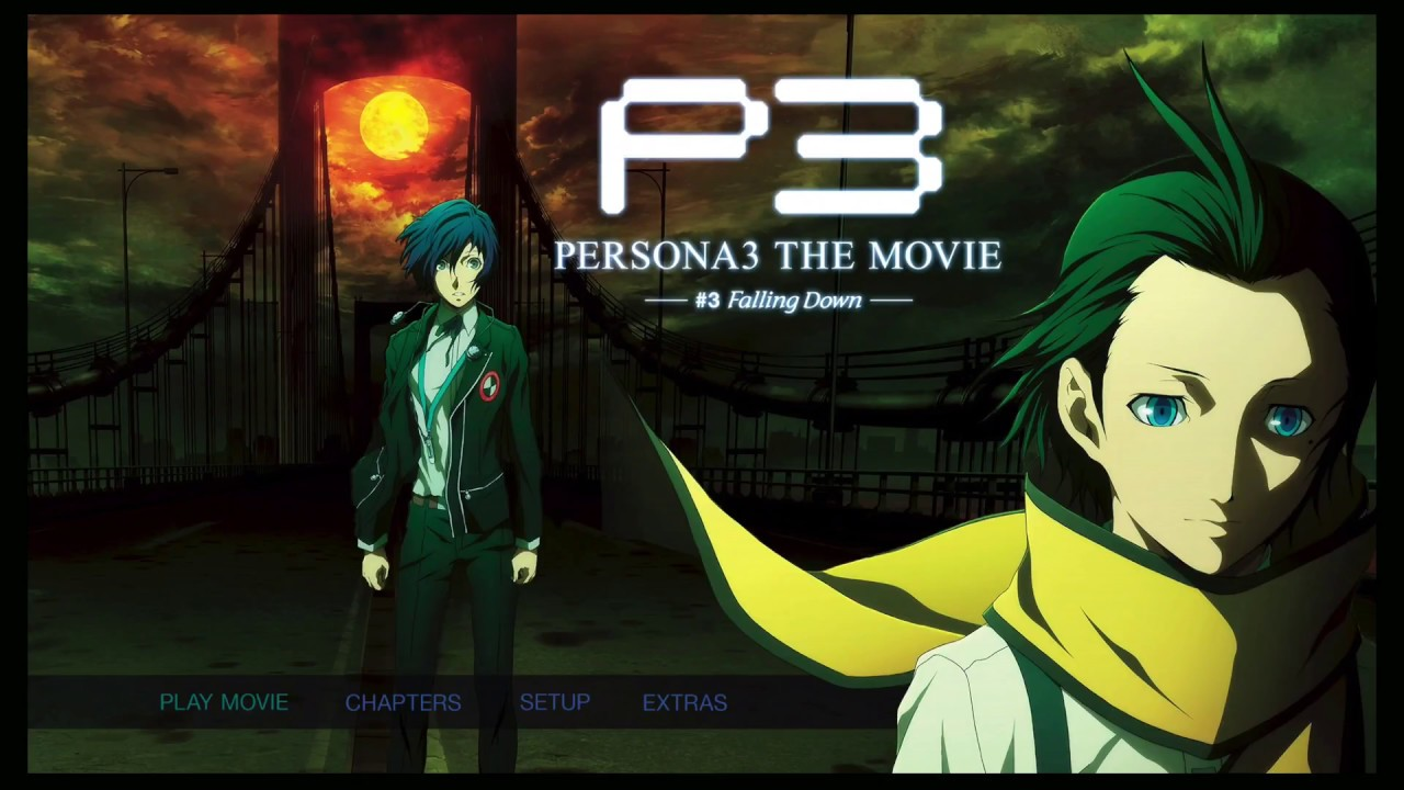 PERSONA 3 THE MOVIE 3: Falling Down (BD/BluRay)