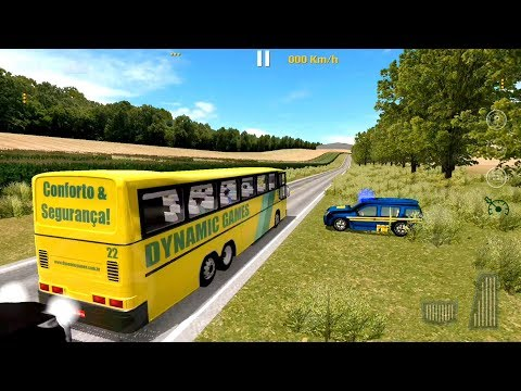 World Bus Driving Simulator - Brazil Buses Driver - Android Gameplay FHD