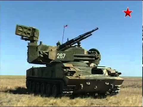 "Anti-aircraft gun-missile system ""Tunguska-M"""