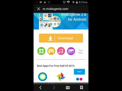 How to download Mobogenie