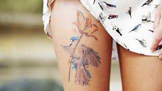 Сколько по времени заживает татуировка на руке, на спине, на ноге, на плече, на теле?