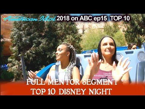 Jurnee -with Her Mom And Idina Menzel Full Mentor Segment Disney Night  American Idol 2018 Top 10
