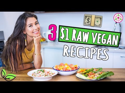 3 $1 RAW VEGAN RECIPES! 🌿Rawvana